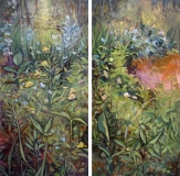 Marsh Plants Diptych