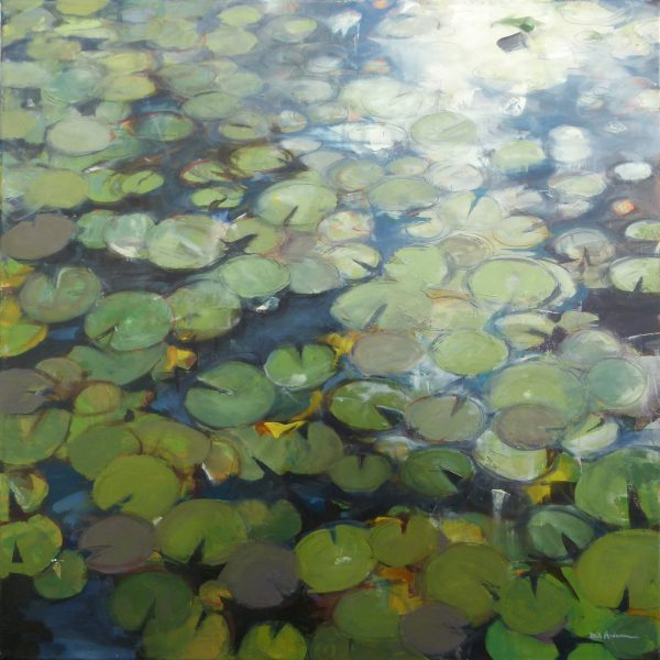 Photo of Lilypads I painting