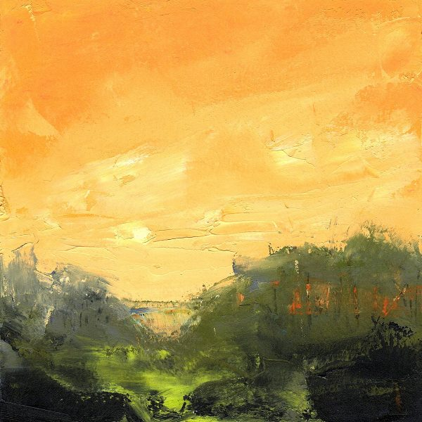 Orange Sky painting