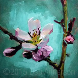 Peach Blossom painting