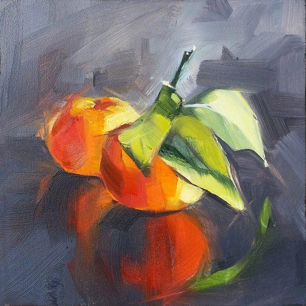 Mandarin Oranges painting
