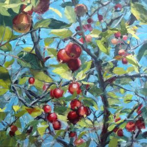 Photo of Apple Branches painting