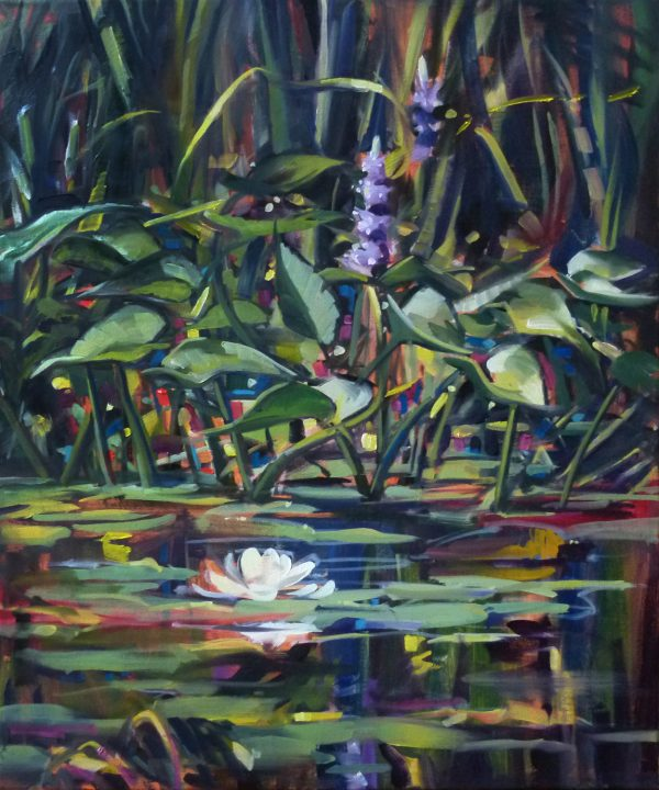 Photo of Pickerel Weed Painting