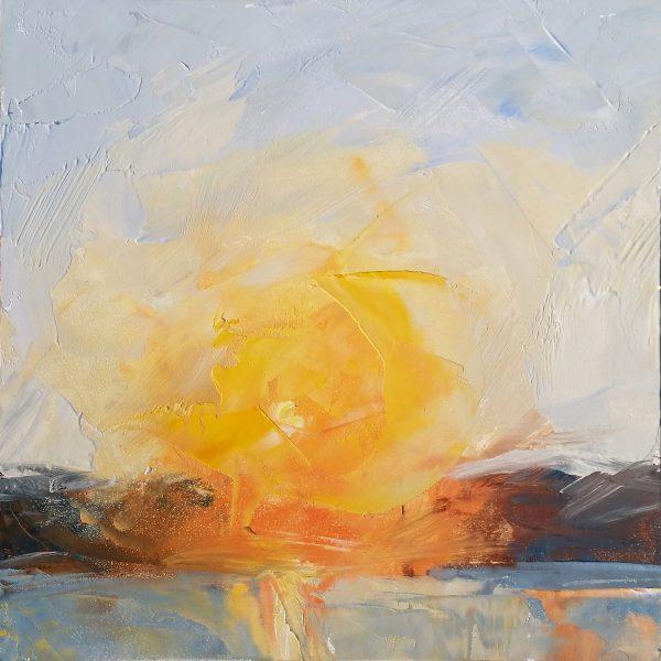 Daybreak painting